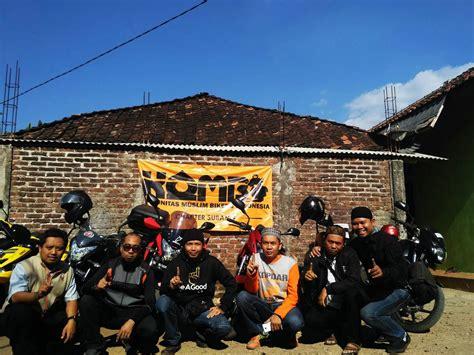 komunitas biker muslim indonesia kombi tebar quran