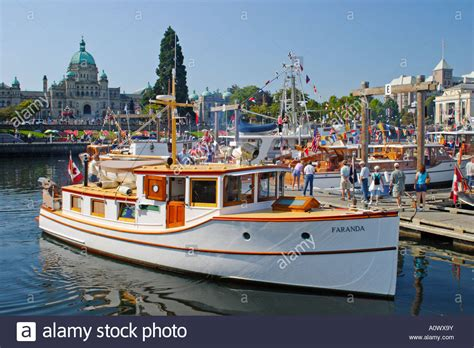 boats for sale victoria bc wooden boats in victoria harbour during annual classic