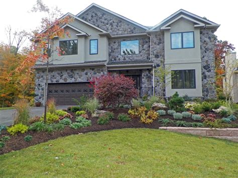 landscape design and construction in millburn nj curb - Curb Appeal Design