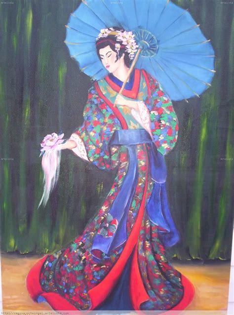 cuadros de japonesas japonesa regina j schwingel reginars artelista