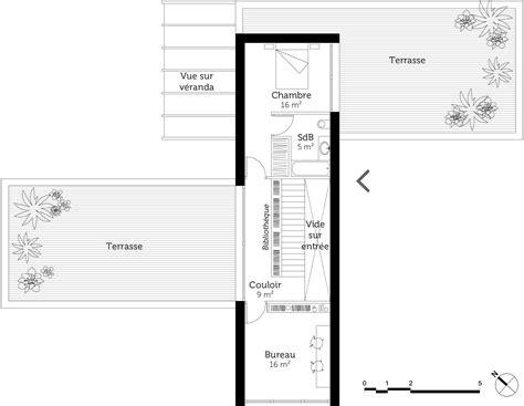 Plan D Architecte De Maison by Plan Maison D Architecte Contemporaine Ooreka