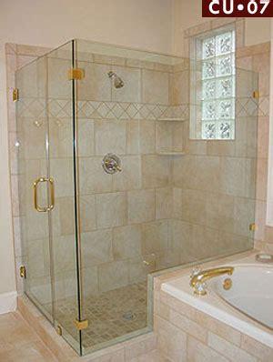 Frameless Shower Doors Houston Shower Doors Houston Cu 07 Corner Frameless Shower Enclosure