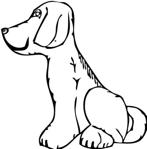 puppy clipart black and white black and white images clipart best