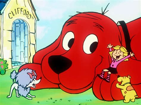 clifford the big cast stuck in the 50s oh bitter nostalgia
