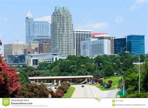 view on downtown raleigh nc stock photo image 57117554
