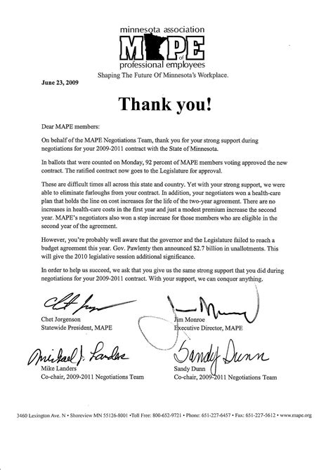 thank you letter to about employee best photos of thanks for your leadership letter thank