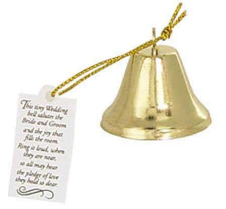 wedding bell poem gold metal wedding poem bells bells basic craft