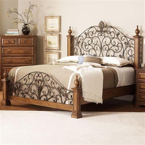 6 piece panel bed edgewood bedroom set in distressed warm 6 piece edgewood poster bed bedroom set in distressed warm