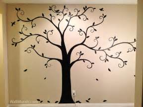 25 best ideas about tree murals on pinterest tree wall hand painted wall murals stencils for kids room