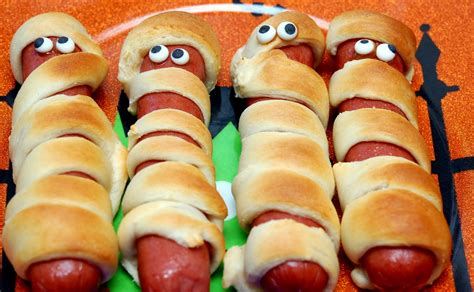 mummy dogs with crescent rolls mummy dogs for dinner hugs and cookies xoxo