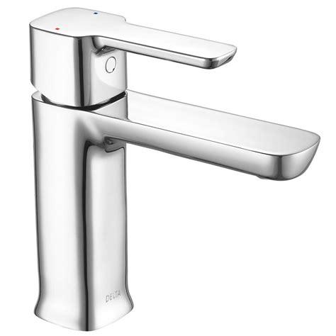 low flow kitchen faucet delta modern low flow project pack single single handle bathroom faucet in chrome 581lf hgm