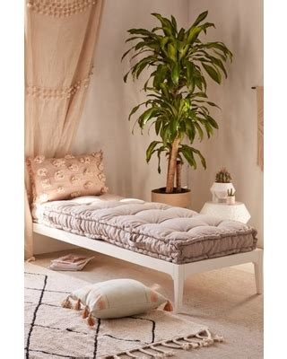 rohini daybed cushion grey  urban outfitters