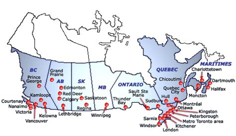 servco canadian market areas served by servco