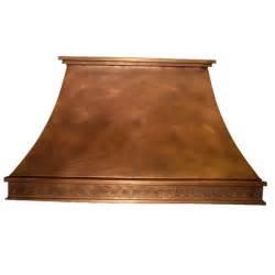range hoods chdecc i decorative curve copper island