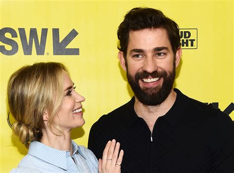 A Place Krasinski Krasinski Emily Blunt Agreeing To In A Place Was The Best Compliment Of