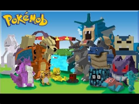 pokemon minecraft mod game online minecraft pokemon go mod youtube
