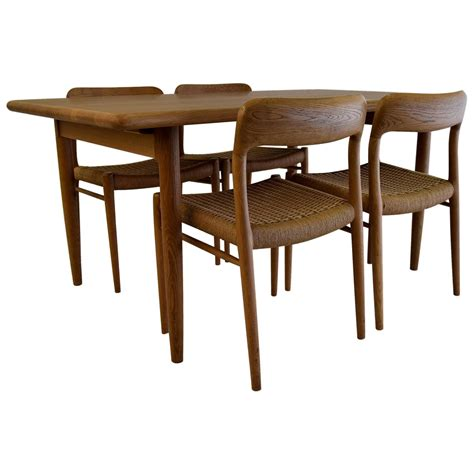1950s dining set by niels m 248 ller for sale at 1stdibs