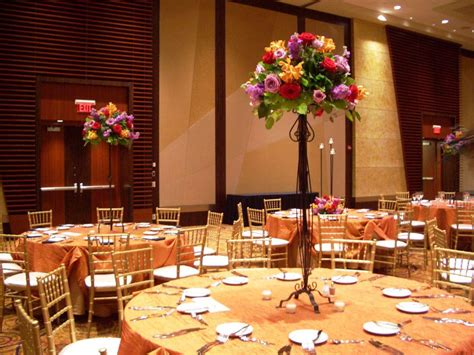 Wedding Reception Flowers by Floral Centerpieces Wedding Reception C Bertha Fashion