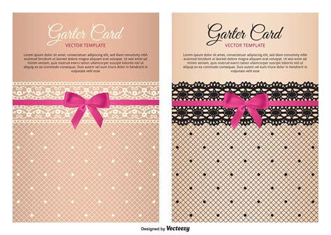 garter template free vector 27123 free downloads