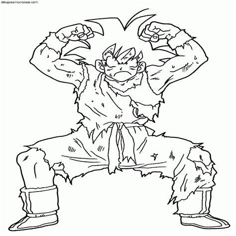 imagenes de goku a color para imprimir nuevo dibujos para colorear de dragon ball z goku
