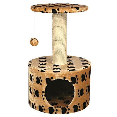 bed bath and beyond toledo trixie pet products toledo paw print cat condo bed bath
