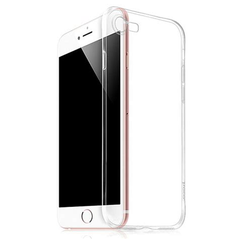 Xfitted Transparent Tpu For Iphone 7 Plus Murah hoco light series tpu tempered glass for iphone 7 8 transparent jakartanotebook