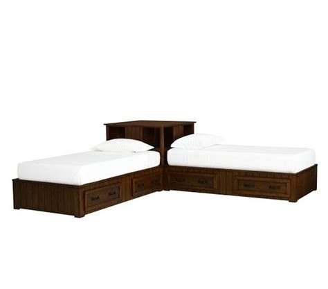 corner twin bed set belden corner unit