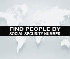 Find By Ssn Social Security Number Lookup