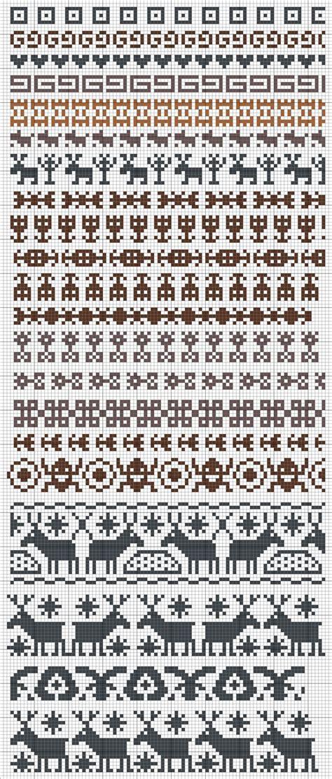 chart pattern pinterest knitting charts picmia