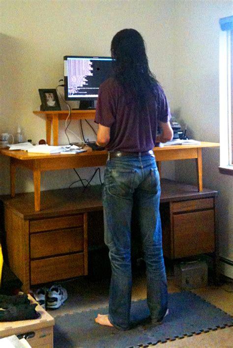 Pdf Diy Woodworking Plans Standing Desk Download Standing On Desk
