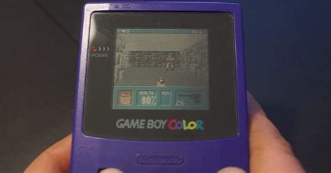 mod gameboy cartridge wolfenstein 3d on unmodified gameboy color uses cartridge