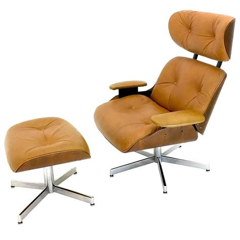 reclining club chair and ottoman reclining leather lounge chair and ottoman by george
