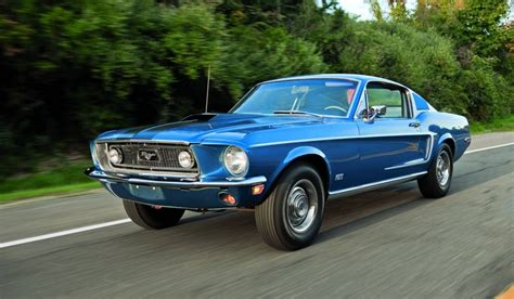 mustang cobra 1968 the 1968 ford mustang 390 gt 2 2 fastback