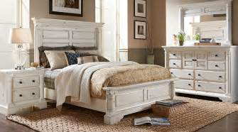 claymore park white 5 pc king panel bedroom king