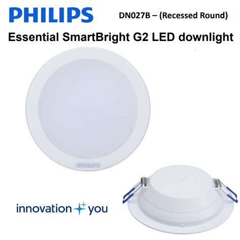 Daftar Lu Downlight Philip philips led downlight dn027b 4 quot 4w led3 d100 rd elevenia