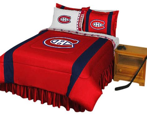 Crib Bedding Sets Montreal Nhl Montreal Canadiens Bedding Set Hockey Bed