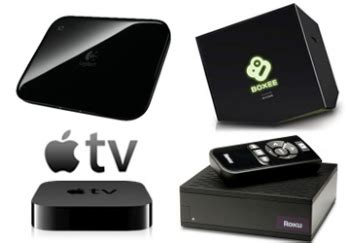 boxee box debuts in a packed internet connected set top