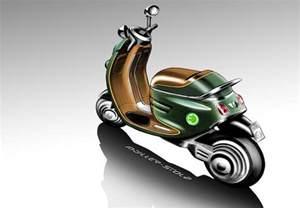 Mini Cooper Scooter Mini Scooter E Concept Notcot