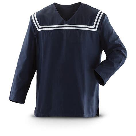 Tshirt Beatbox Navy Buy Side croatian surplus sailor s middy shirt new