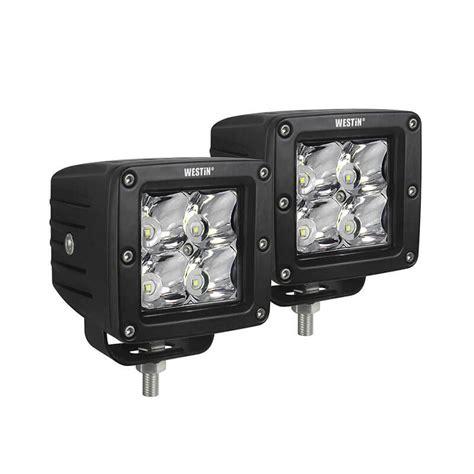 auxiliary led lights for trucks westin automotive hyperq compact led auxiliary lights