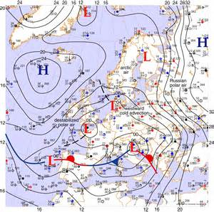Europe Weather Map by Weather Forecast Europe Map