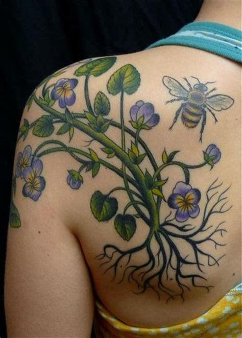 tattoo adalah seni tattoo kupu kupu dengan kombinasi tattoo bunga gambar