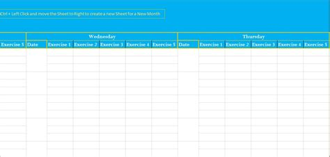 professional exercise log template excel excel tmp