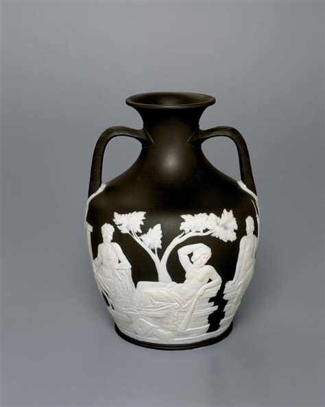 Portland Vase Wedgwood by Wedgwood Portland Vase And Stand C 1790 Ngv