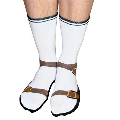 sandals socks sock sandals silly socks for gift idea one size