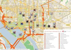 map of washington attractions tripomatic