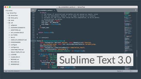 thunderstorm a sublime text theme for web developers sublime text 3 0 released with new features download