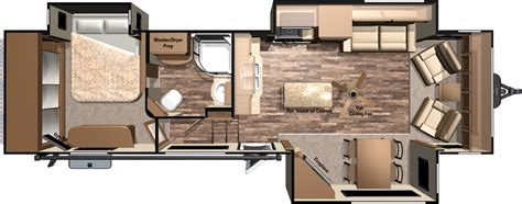 mesa ridge rv floor plans mesa ridge travel trailers mr340flr highland ridge rv
