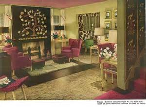 1940s interior design glamour the plastic space age florals green living