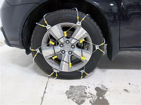 glacier  trac cable snow tire chains  pair glacier tire chains pwv